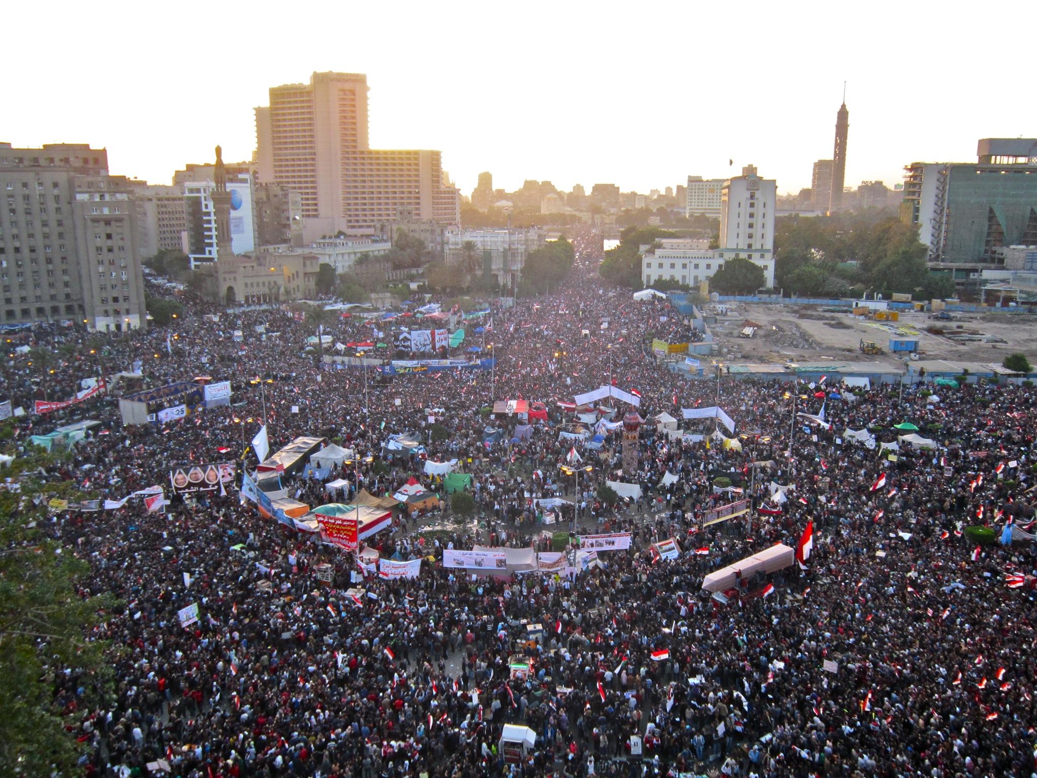 Tahrir Square, January 25, 2012: an archive in the making