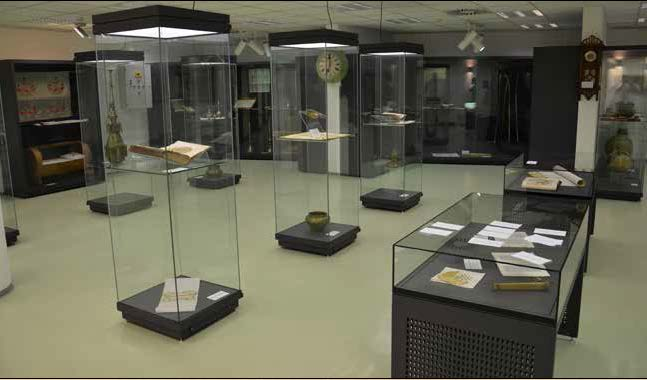 The library's museum
