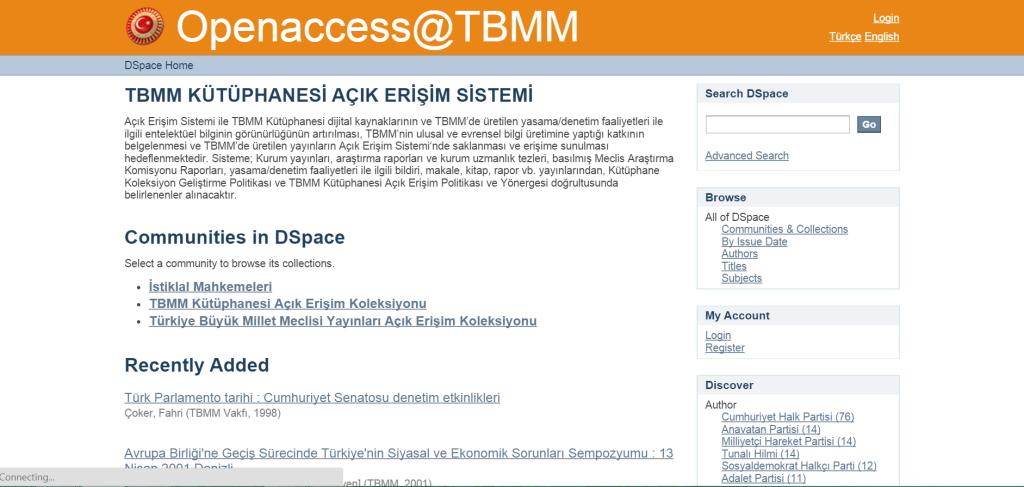 TBMM Website